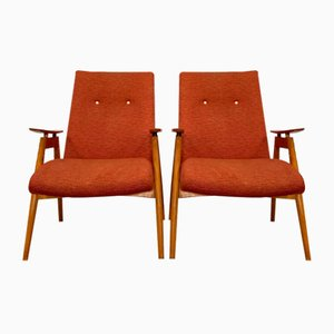 Armchairs by J. Smidek for Ton, Set of 2