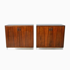 Sideboards in Rosewood by Giulio Moscatelli for Formanova, 1970s, Set of 2
