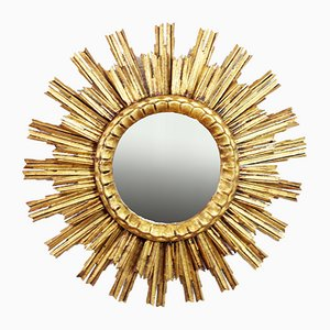 Gold Leaf Sun Mirror, 1960s