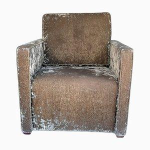 Armlehnstuhl aus oxidiertem Samt von Invogue