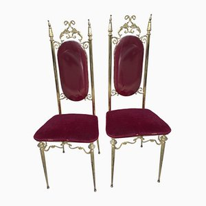 Chivarine Chairs, 1950s, Set of 2