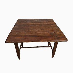Antiker Tisch mit Bändern aus dem späten 19. Jahrhundert