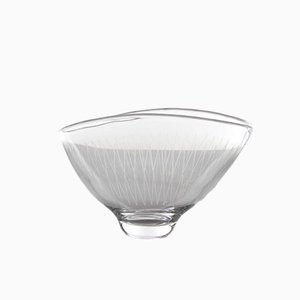 Swedish Glass Bowl by Vicke Lindstrand for Orrefors, 1960s