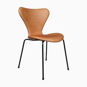Modell 3107 Syveren Esszimmerstuhl von Arne Jacobsen für Fritz Hansen