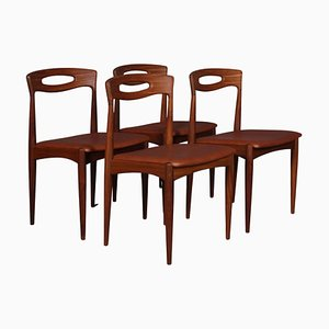 Dining Chairs by Johannes Andersen for Uldum Møbelfabrik, Set of 4