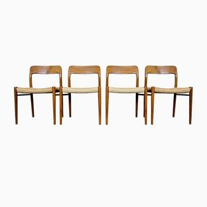 Teak Dining Chair by Niels O. Möller for J. L. Møllers, 1960s