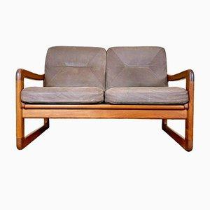 Dänisches Teak Sofa, 1970er