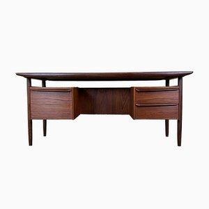 Teak Schreibtisch von Tijsseling für Propos Hulmefa, 1960er