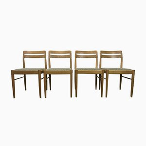Oak Dining Chair by H. W. Klein for Bramin, 1960s