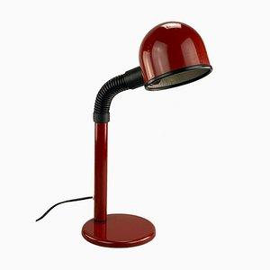 Rote Kugel Lampe, 1970er
