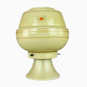 Glas Deckenlampe von Erco, 1960er