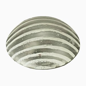 Mid-Century Space Age Glass Ceiling Lamp from Peill & Putzler, 1970s