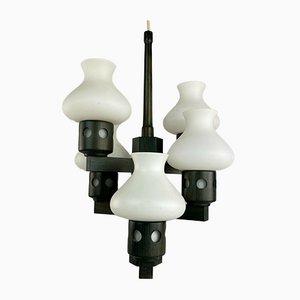 Dänische Mid-Century Deckenlampe von Vitrika