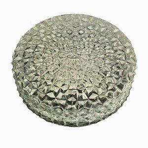 Mid-Century Space Age Deckenlampe aus Glas
