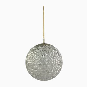 Space Age Glass Ball Pendant Lamp