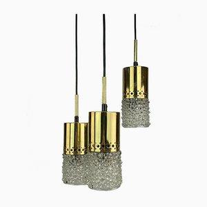 Mid-Century Kaskadenlampe aus Metall