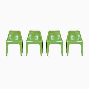 Mid-Century Gartenstühle von Albert Brokopp für WeSifa, 4er Set