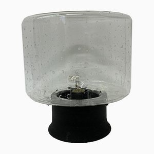 Mid-Century Glas Deckenlampe, 1960er