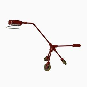Rolling Red Dog Kila Tischlampe von Harry Allen für Ikea