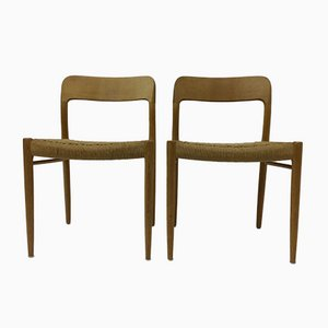 Dining Chairs by Niels O. Moller for J. L. Mollers, Denmark, 1960s, Set of 2
