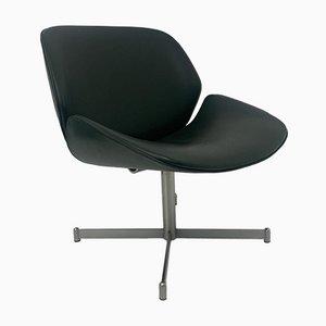 Mid-Century Dutch Exquis Lounge Chair in Dark Green by Geoffrey Harcourt for Artifort, 1960s