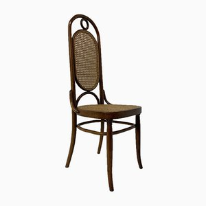 Bentwood High Back Dining Chair from Thonet, 1960s