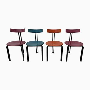 Zeta Dining Chairs from Harvink, 1980s, Set of 4
