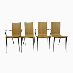 Olly Tango Chairs by Philippe Starck for Driade, 1990s, Set of 4