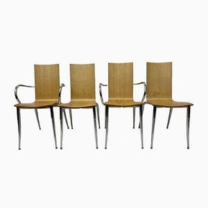 Olly Tango Stühle von Philippe Starck für Driade, 1990er, 4er Set