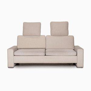 Beiges Alba 2-Sitzer Sofa mit Stoffbezug von Brühl & Sippold