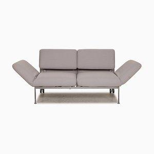 Eisblaues Roro 2-Sitzer Sofa mit Schlaffunktion von Brühl & Sippold
