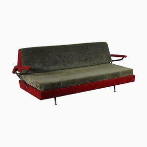 Sofa aus Schaumstoff & Stoff, Italien, 1960er