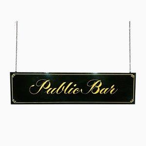 Public Bar Sign