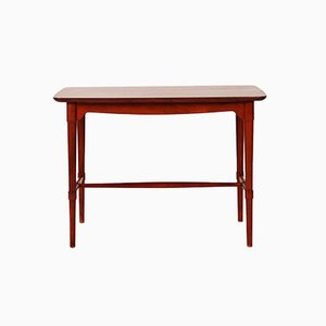 Vintage Danish Mahogany Sidetable from Fritz Hansen