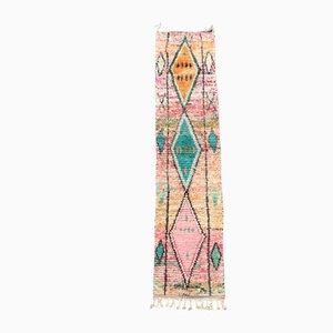 Mehrfarbiger marokkanischer Teppich