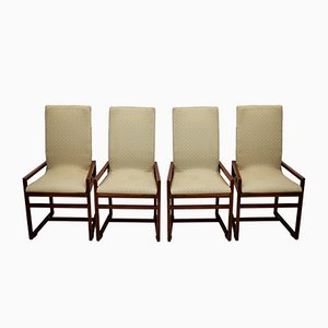 Italian Dining Chairs, 1970s, Set of 4
