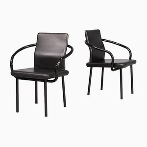 Mandarin Chairs by Ettore Sottsass for Knoll, 1980s, Set of 2