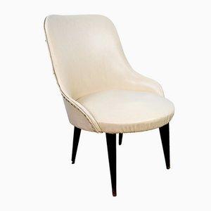 Italienischer Kammer Sessel, 1950er