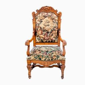 Historic Throne Armchair, France, 1890s