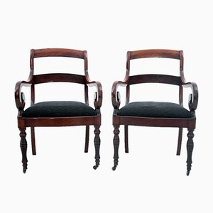 Armchairs, France, 1880s, Set of 2