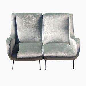 Geteiltes Sofa, 1950er