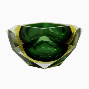 Murano Glass Crystal Centerpiece by Alessandro Mandruzzato, 1970s