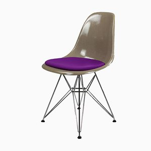 Chairs with Fiberglass Shells & Eiffel Bases by Charles & Ray Eames for Herman Miller, Set of 6