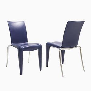 Louis 20 Esszimmerstühle von Philippe Starck für Vitra, 6er Set