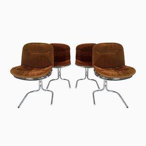 Radiofreccia Chairs by Gastone Rinaldi for Rima, 1970s, Set of 4