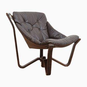 Norwegischer Mid-Century Viking Chair von Jim Myrstad für Brunstad Møbelfabrikk, 1970er