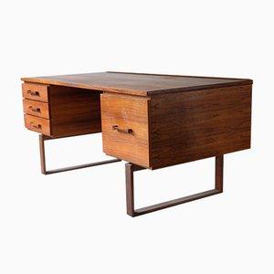 Palisander Schreibtisch von John Jensen & Torben Valeur, Dänemark, 1960er