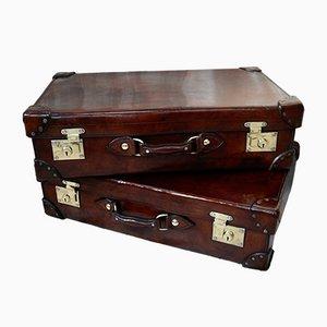 Koffer aus Vollleder von RW Forsyth, 2er Set