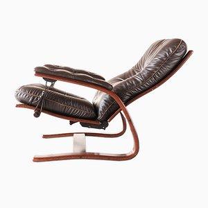 Folding Siesta Chair by Ingmar Relling for Westnofa, Norway, 1970s