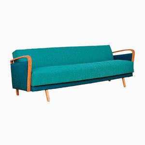 Klappbares Mid-Century 3-Sitzer Sofa, 1960er